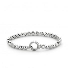 TI SENTO - Milano 2871ZI zilveren armband met zirconia 19 cm