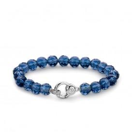 Ti Sento - Milano 2866DB blauwe kralen armband