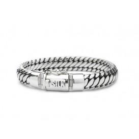 SILK Jewellery Armband zilver 'Shiva' 21 cm 371