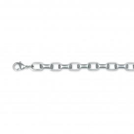 Slate 404.0103.21 Armband staal zilverkleurig 21 cm