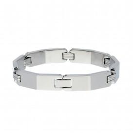 Slate 404.0106.21 Armband staal zilverkleurig 21 cm