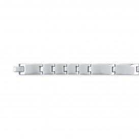 Slate 404.0107.21 Armband staal zilverkleurig 21 cm