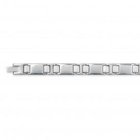 Slate 404.0129.21 Armband staal zilverkleurig 21 cm