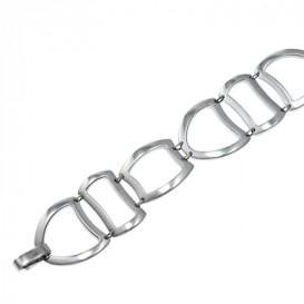 Slate 404.0161.19 Armband staal zilverkleurig 19 cm