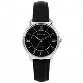 Prisma horloge 1971 dames edelstaal saffierglas 5 ATM P.1971 Dameshorloge 1