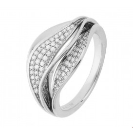 TFT Ring Diamant 0.38ct G VSI Witgoud
