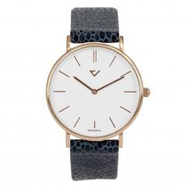 Prisma Horloge 1867 Dames Edelstaal RoséGoud 100%NL P.1867 Dameshorloge 1
