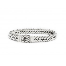 Silk Jewellery 420-19 Armband zilver lengte 19 cm