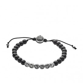 Diesel DX1088040 Beads Herenarmband 16,5-25 cm