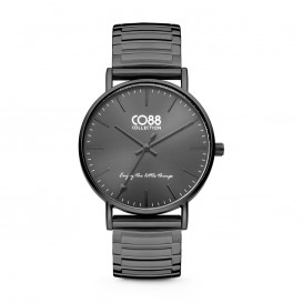 CO88 Collection 8CW-10060 - Horloge - Horloge - mesh band - zwart -  ø 36 mm