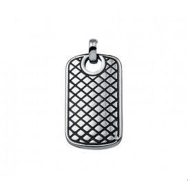 TFT Hanger Staal Dogtag