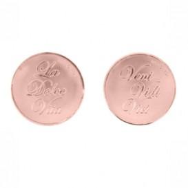 Mi Moneda DOL-03 Dolce Vita - Veni Vidi Vici rosekleurig Medium
