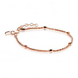 Zinzi ZIA1128R Armband zilver rosekleurig