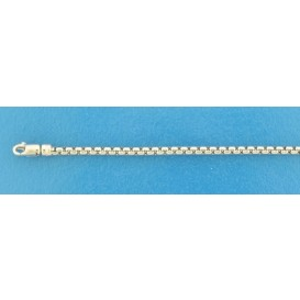 TFT Armband Witgoud Venetiaans Bol 2,5 mm 19 cm
