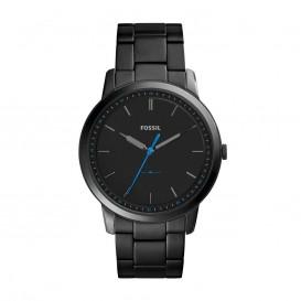 Fossil FS5308 Horloge The Minimalist staal zwart