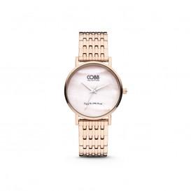 CO88 Collection 8CW 10068 Horloge - Stalen band - rosékleurig - Ø 32 mm