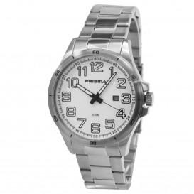 Prisma horloge 33C731015 Heren Classic Edelstaal P.1082 Herenhorloge 1