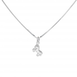 Lilly Zilveren Bedel Kids Collection Incl. Collier Paard In Hoefijzer 102.0237.38