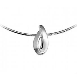 TFT Hanger zilver gerhodineerd Poli/mat 22 x 11 mm