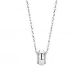TI SENTO - Milano 3904ZI zilveren collier met hanger 42 cm