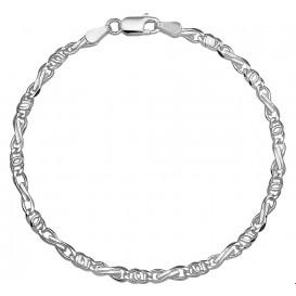 Armband Zilver Valkenoog 3,5 mm 18 cm