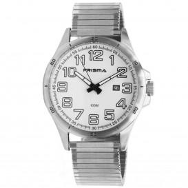 Prisma horloge 1073.54VH Heren Classic Staal Rekband P.1073.54VH Herenhorloge 1
