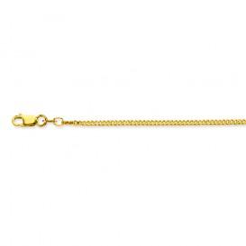 Glow Gouden Lengtecollier 45 cm. Gourmet 1.7 mm breed 201.0545.44