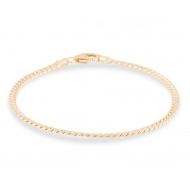 Glow Gouden Armband Herringbone 3 mm 19 cm 204.2016.19