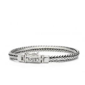 SILK Jewellery 345.19 Armband zilver 'Shiva' 19 cm