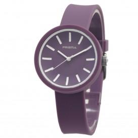 **Prisma horloge P.1253 -C011911  Design Mini Simpel Paars P.1253 Herenhorloge 1