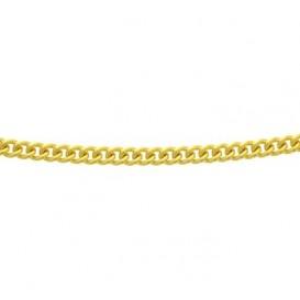 Zilgold Collier goud met zilveren kern Gourmet 45 cm 50.00151
