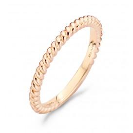 Blush 1118RGO Rosegouden ring gedraaid  Maat 54 is 17.25mm
