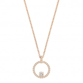 Swarovski 5202446 Ketting Creativity Circle rosekleurig