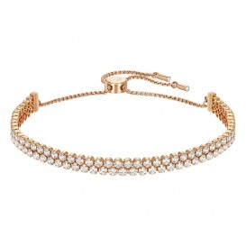 Swarovski 5224182 Armband Subtle Double Rose
