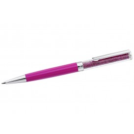Swarovski 5224385 Pen Crystalline zilverkleurig-fuchsia