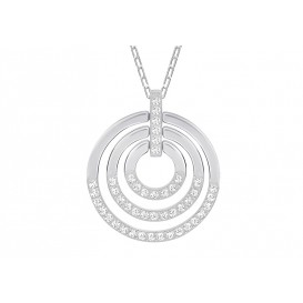 Swarovski Ketting Circle White-Silver 5290187