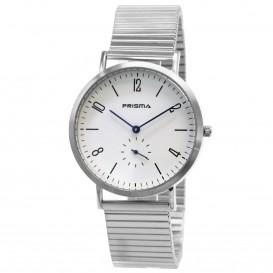 Prisma horloge 33B711003 Heren Design Staal Rekband P.1229 Herenhorloge 1