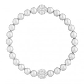Swarovski Armband Remix Collection Crystal Pearl Gray 17,5 cm 5364103