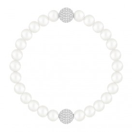 Swarovski Armband Remix Collection Crystal Pearl White 17,5 cm 5365736