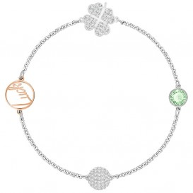 Swarovski Armband Remix Collection Clover Green 17,5 cm 5365755