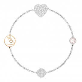 Swarovski Armband Remix Boundless Heart 17,5 cm 5365760