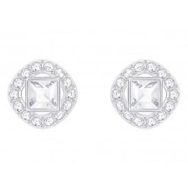 Swarovski Oorbellen Angelic Square White/Silver 5368146