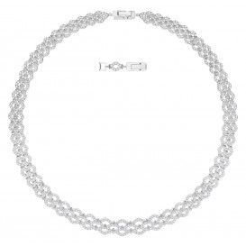 Swarovski Ketting Lace All-Around zilverkleurig 5374578