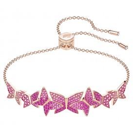 Swarovski Armband Lilia Bangle rosékleurig/roze 5378695