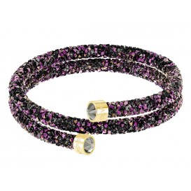 Swarovski Armband Crystaldust Bangle Double Gold-Multicolour M 5379278