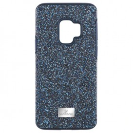 Swarovski Telefoonhoes met Bumper High Blue Samsung Galaxy S9* 5380300