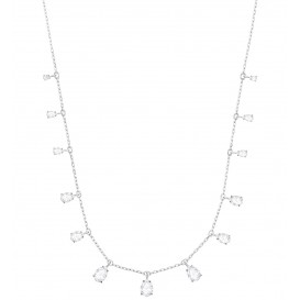 Swarovski Ketting Attract Pear zilverkleurig 5384371