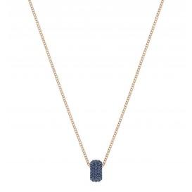 Swarovski Ketting Stone Round rosékleurig-blauw 5389431