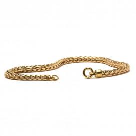 Trollbeads TAUBR-00003 18 krt gouden armband 18 cm