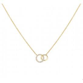 TFT Collier Geelgoud Diamant 0.08ct H P1 1,0 mm 41 - 43 - 45 cm